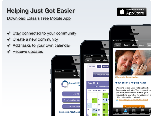 Download Lotsa Mobile App
