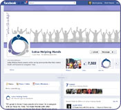Find caregiving resources on Facebook